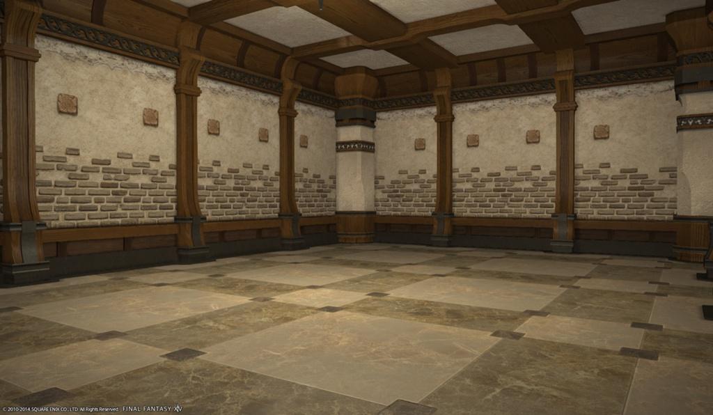 Interiors Final Update: Eorzea Database: Country Interior Wall