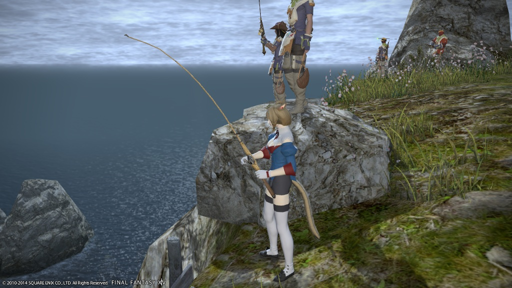 Lily arlune blog entry spotted a wild retainer final for Ffxiv fishing guide