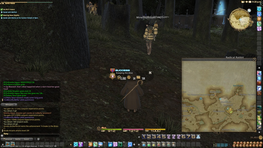 ff14 fate levling guide level
