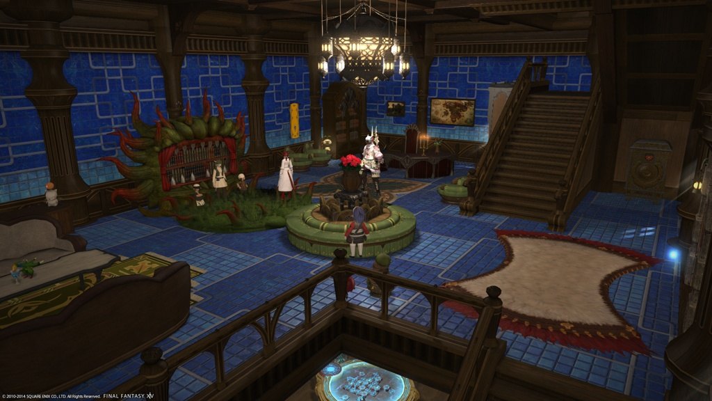 Eorzea Database Tiled Interior Wall Final Fantasy Xiv