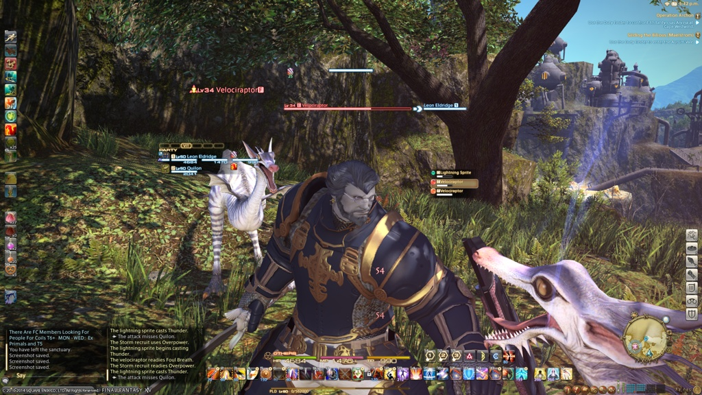 how to get paladin fff14