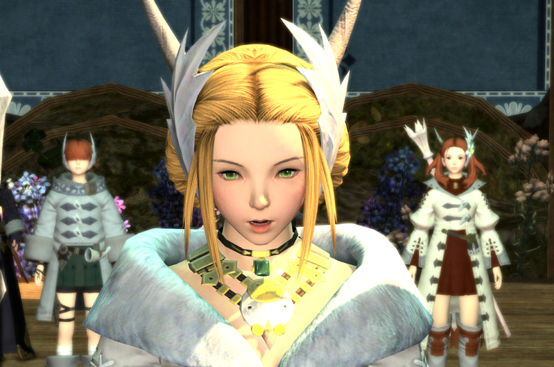 Kan-E Senna (Leader of Gridania) from Shadow of Death