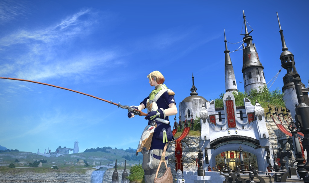 Eorzea database forager 39 s fishing rod final fantasy xiv for Ffxiv fishing guide