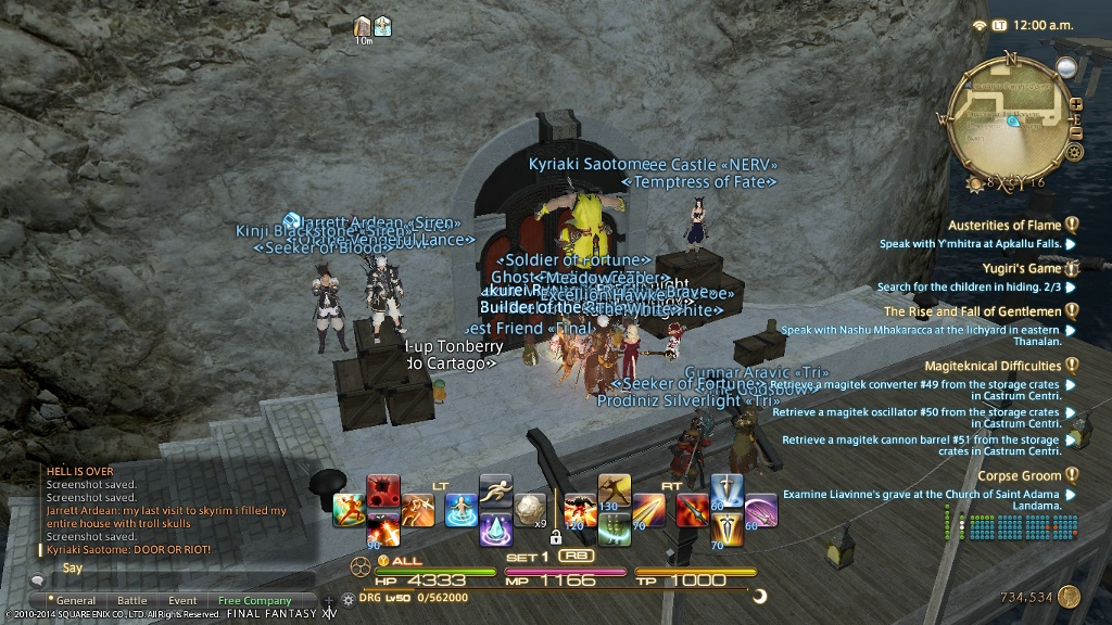 final fantasy xiv how to become a rogue