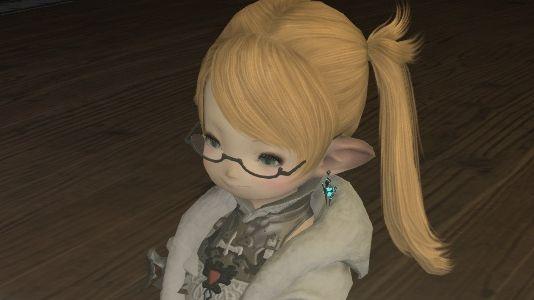 【118】ララフェル新髪型・・・ ?