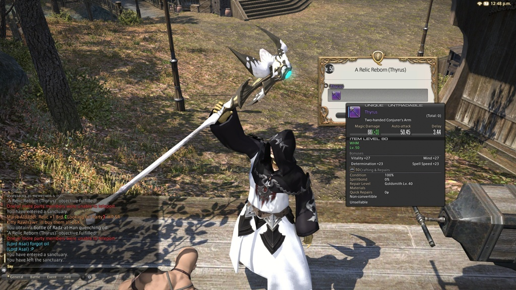 Thyrus and Stardust rod get! Curtana is all that's left now! Also, I ...