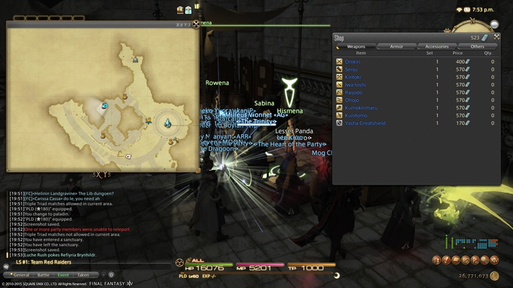Gearing at 60 - Destined - Ultros - Final Fantasy XIV: A