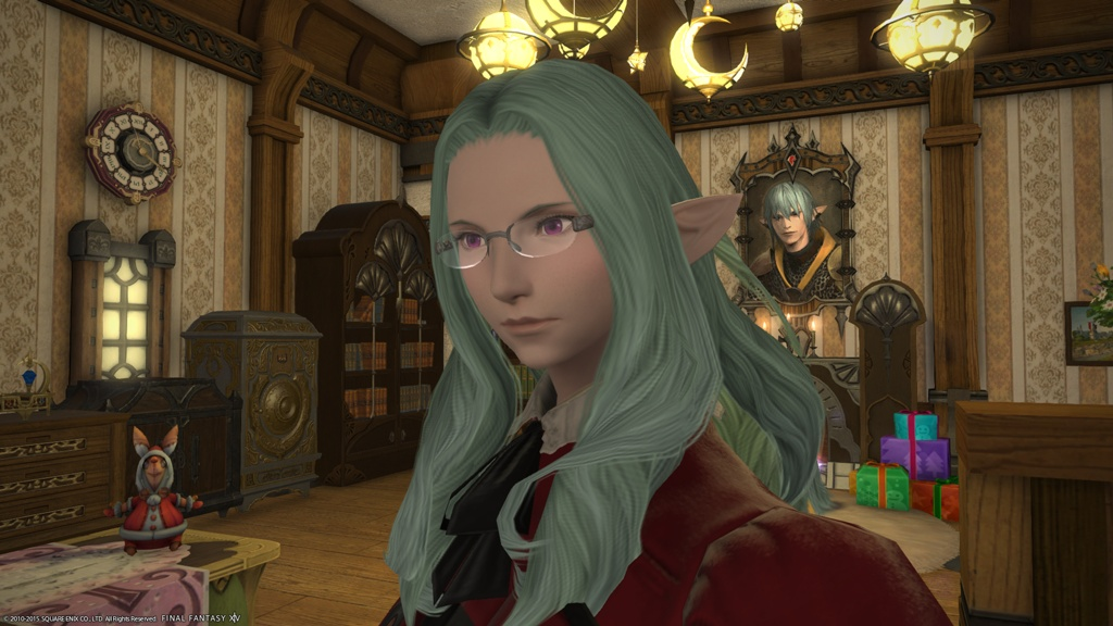 Eorzea Database: Elegant Rimless Glasses FINAL FANTASY ...