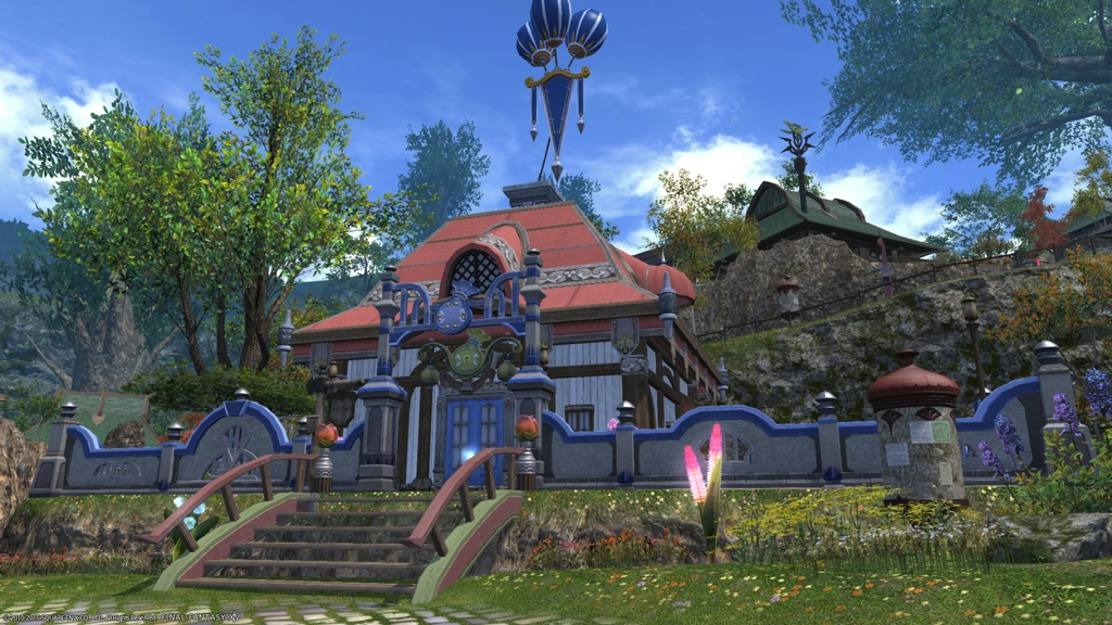 Eorzea Database Small Merchant S Walls Final Fantasy