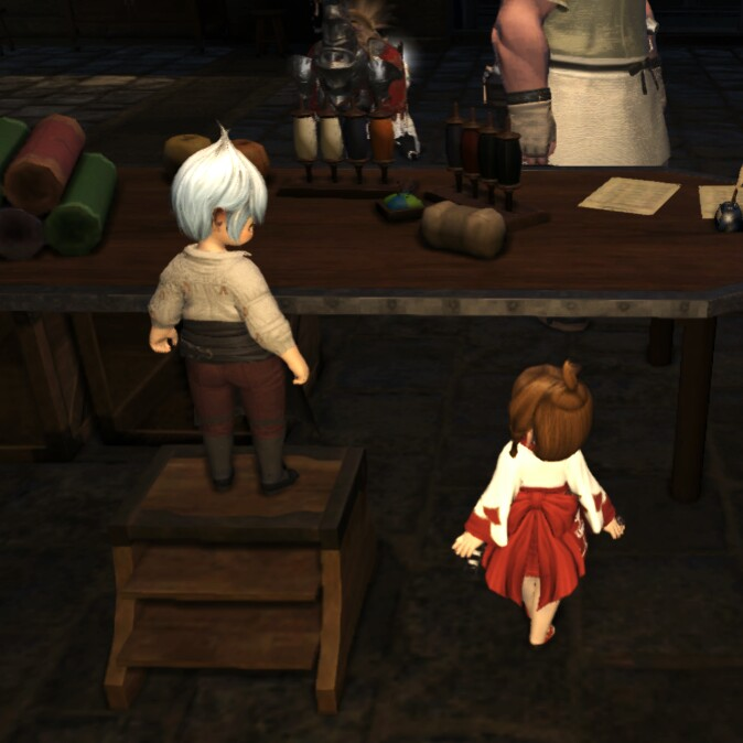 Eorzea Database Lalafellin Step Stool Final Fantasy Xiv