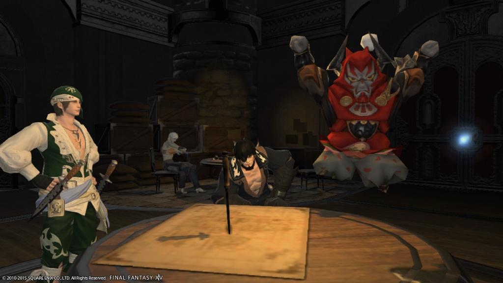 eorzea database wind up gilgamesh final fantasy xiv the lodestone