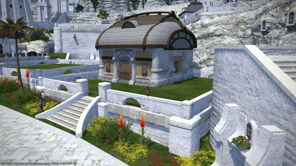 Eorzea Database Riviera Cottage Roof Composite Final