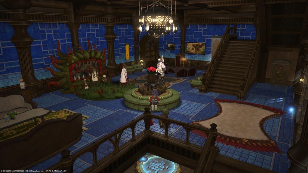 Interiors Final Update: Eorzea Database: Tiled Interior Wall