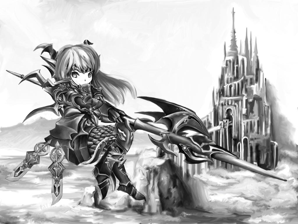 Silo Hugo Blog Entry イラスト 竜騎士 Final Fantasy Xiv The