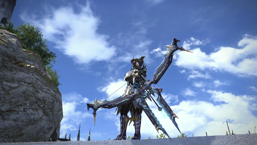 Eorzea database augmented ironworks magitek bow final for Ffxiv fishing guide