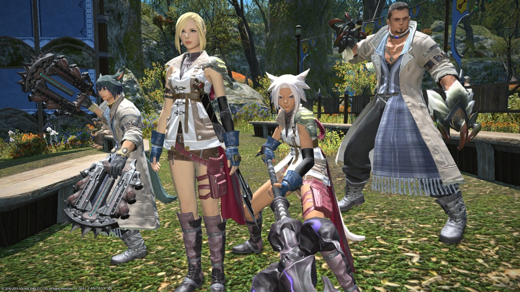Final fantasy xiv hyur female - photo#38