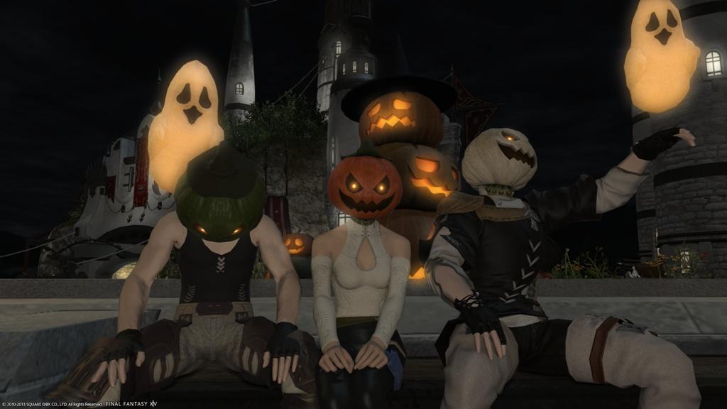 Quistis Villiers Blog Entry `Happy Halloween!`   FINAL FANTASY XIV ...