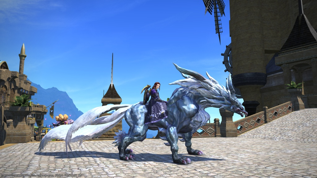 Milleus Vionnet Blogeintrag Fenrir Mount Final Fantasy Xiv Der