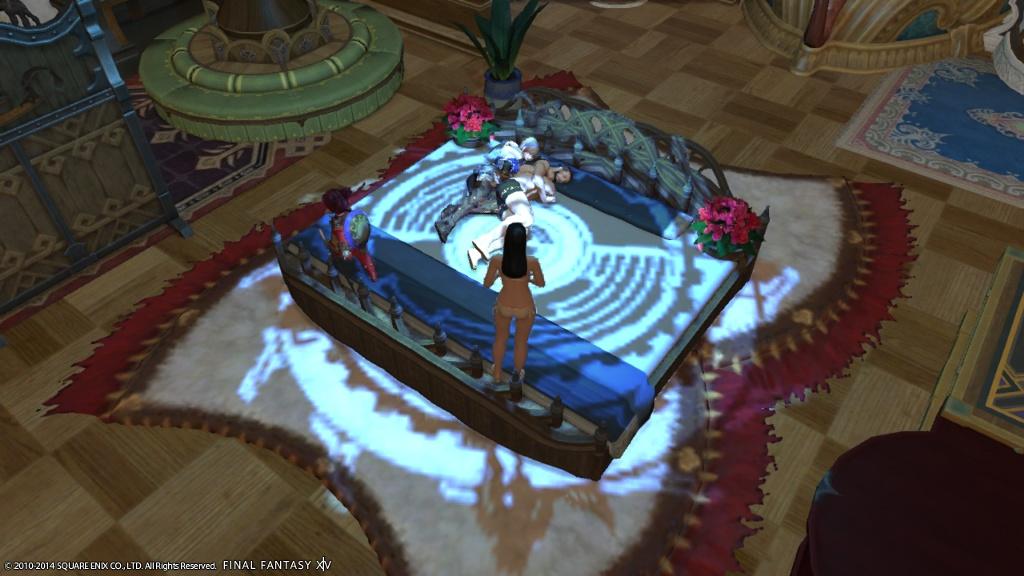 Valia Rosa Blogeintrag Big Bed Final Fantasy Xiv Der Lodestone