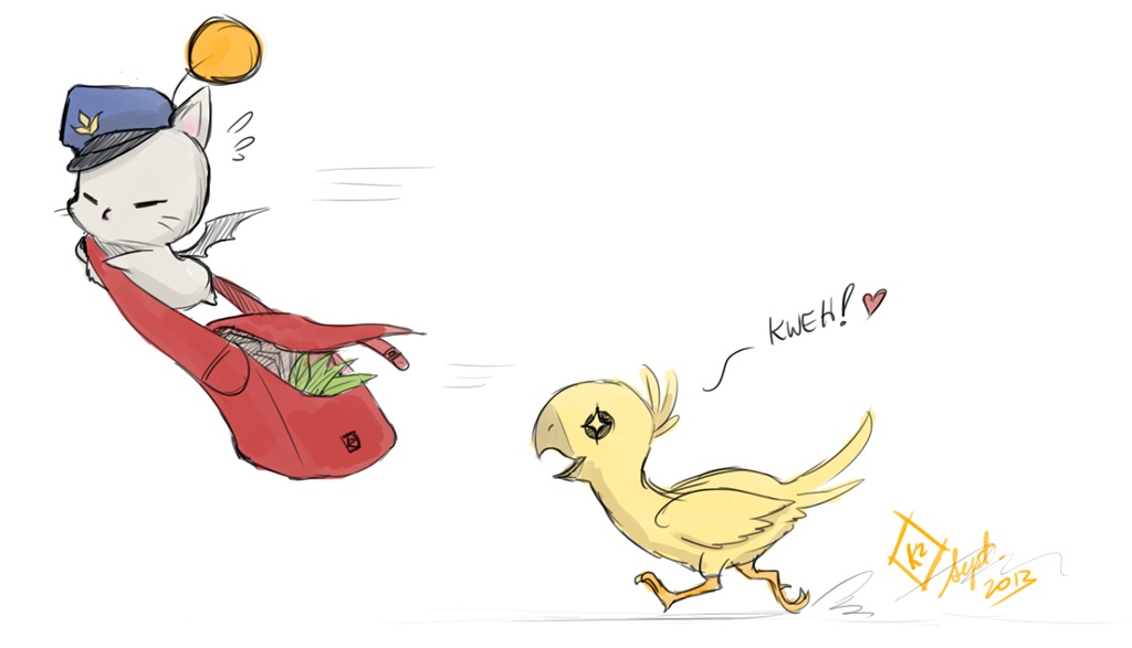 how to get a chocobo in ffxiv