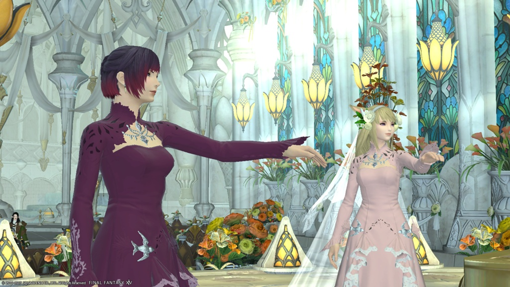 FF14 Wedding Dress