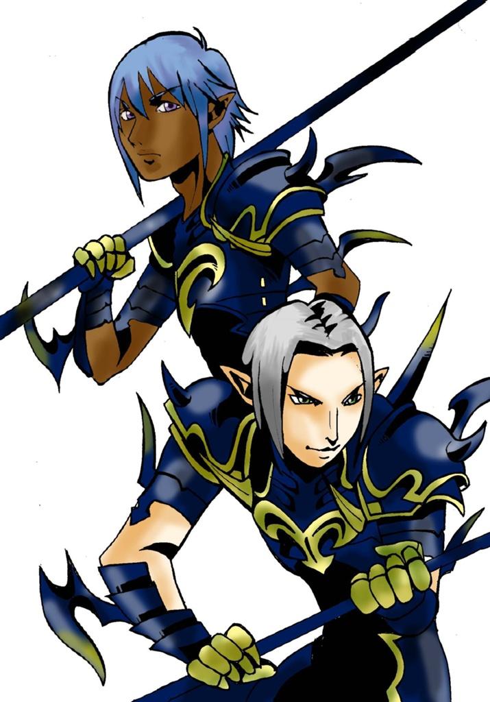 Elin Kuzunoha Blog Entry 竜騎士イラスト Final Fantasy Xiv The
