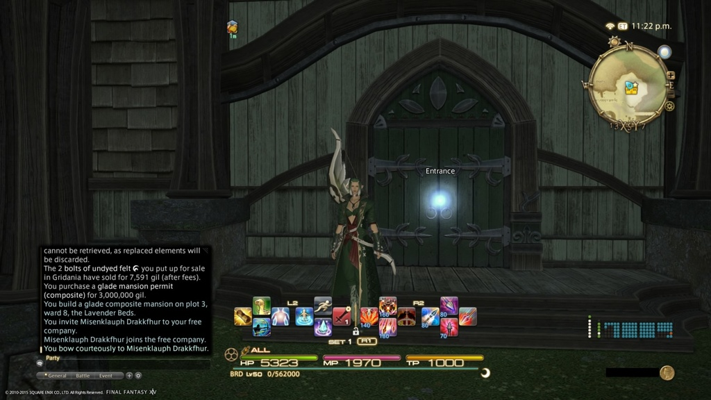 how to leave a free company ffxiv
