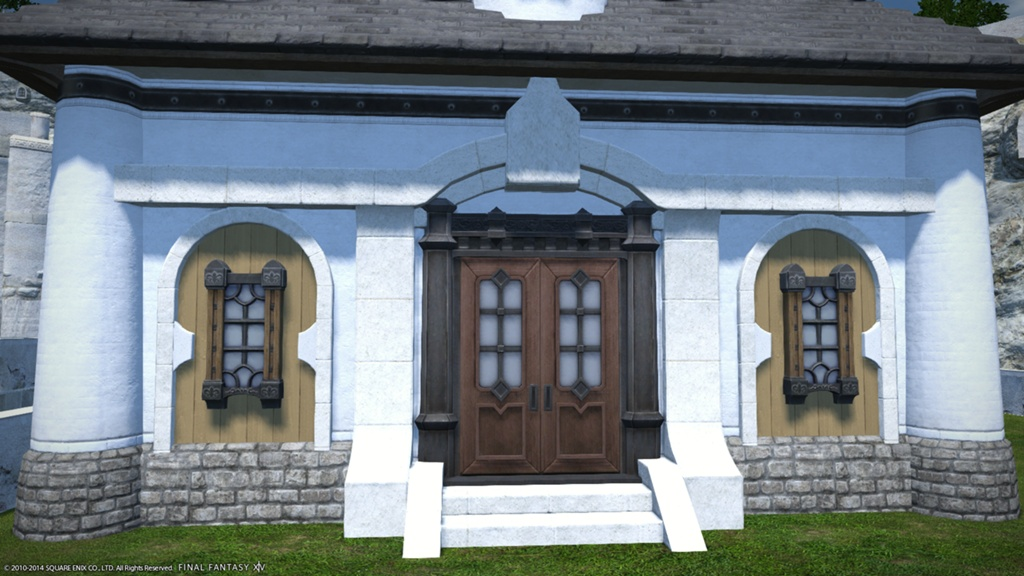 Eorzea Database Riviera Cottage Wall Stone Final