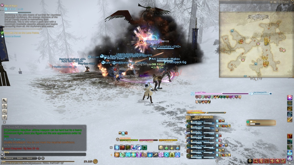 Vanilla Skies Blog Entry `My UI` | FINAL FANTASY XIV, The