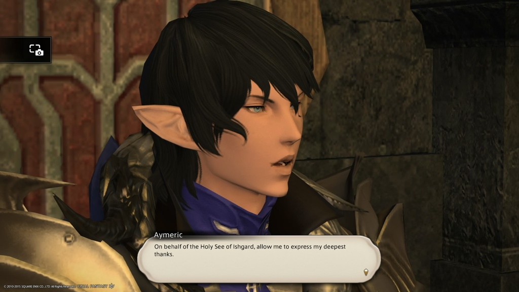 Eorzea Database: Aymeric | FINAL FANTASY XIV, The Lodestone