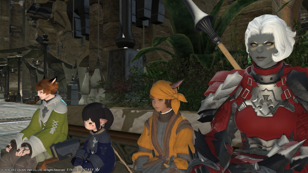 Kemiko Oyung Blog Entry `Another Day in Ul'Dah`   FINAL FANTASY XIV, The Lodestone