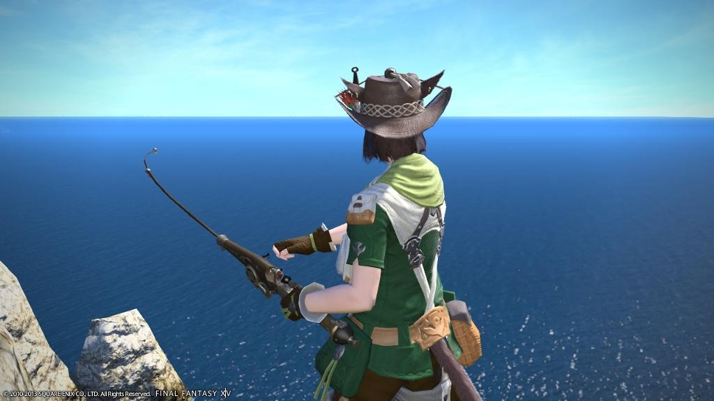 Midori edamame blog entry fishing log mahi mahi final for Ffxiv fishing guide
