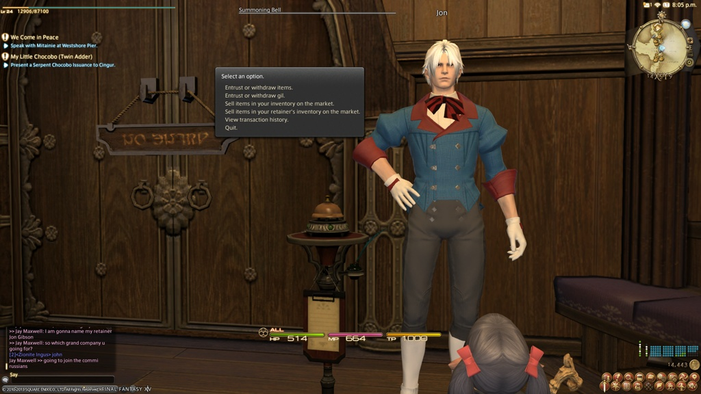 ff14 how to change class