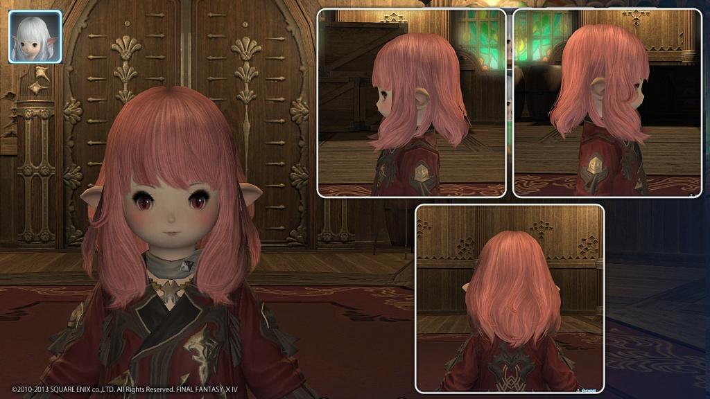 ララフェル♀(女性) 髪型まとめ♪ パッチ2.2髪型追加しましたっ!