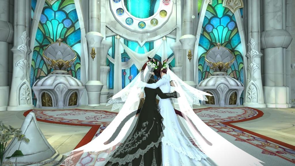 Ffxiv lesbian wedding