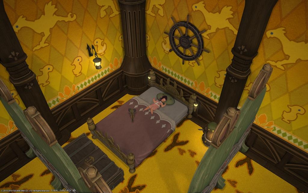 Momoi Yuudai Blogeintrag Tonberry Bed Final Fantasy Xiv Der