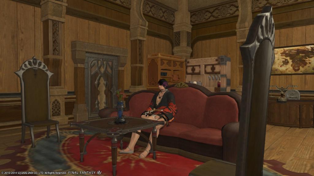 Shepherd Hawke Blog Entry My Personal Room So Far
