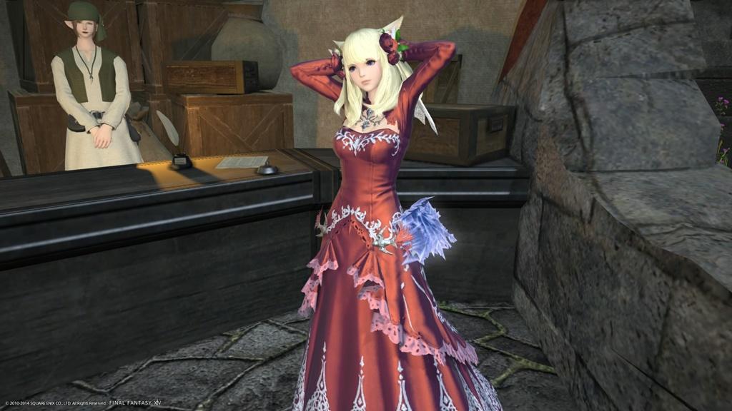 ドレス欲しさにエタバンしました。 なお、クエストは途中で破棄した模様。