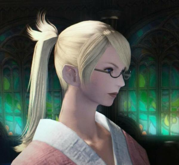 【エレゼン♀】新髪型・ポニテ もどき