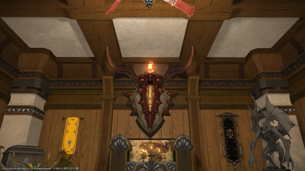 Eorzea Database: Inferno Wall Lamp | FINAL FANTASY XIV, The Lodestone