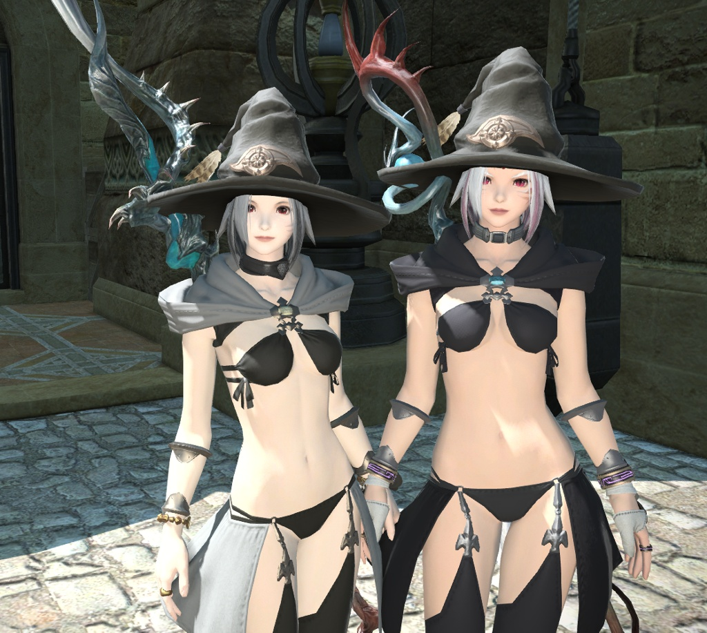 Miu Sunrain Blog Entry `本物の魔女と竜騎士の魔女の双子` | FINAL FANTASY XIV, The Lodestone