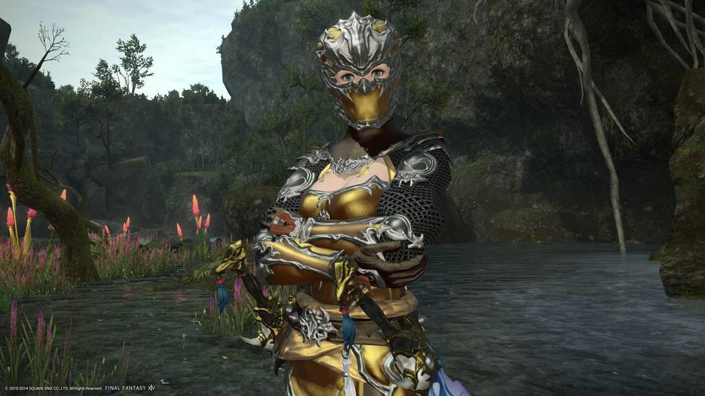 eorzea database augmented ninja chainmail final fantasy xiv the