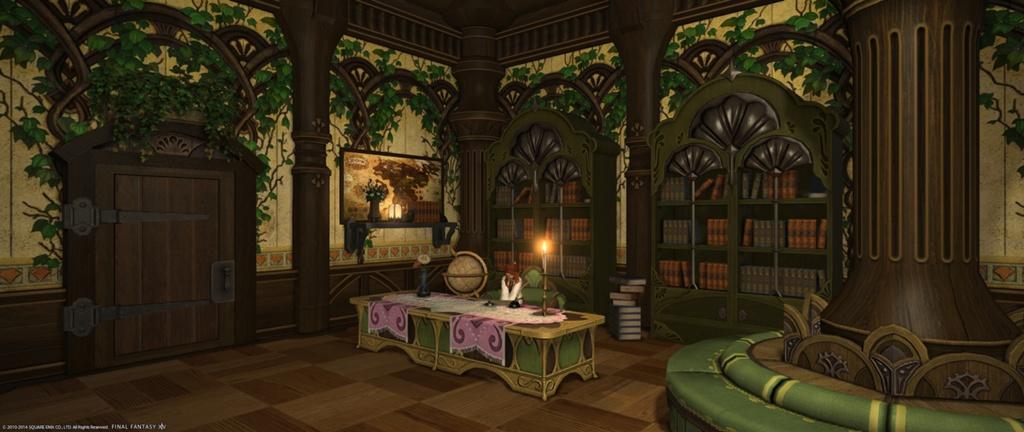Tua Teatime Blog Entry Green Room Final Fantasy Xiv