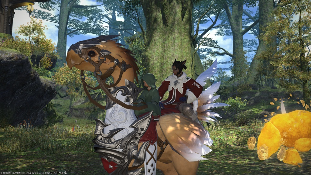ffxiv how to get your grand company chocobo out