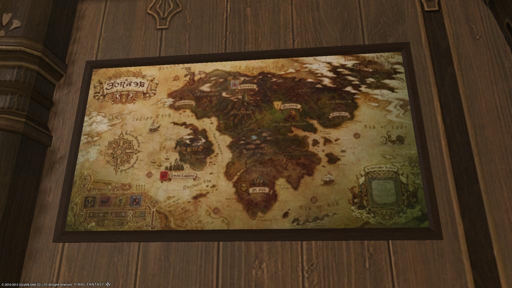Eorzea Database Eorzean Map Final Fantasy Xiv The Lodestone