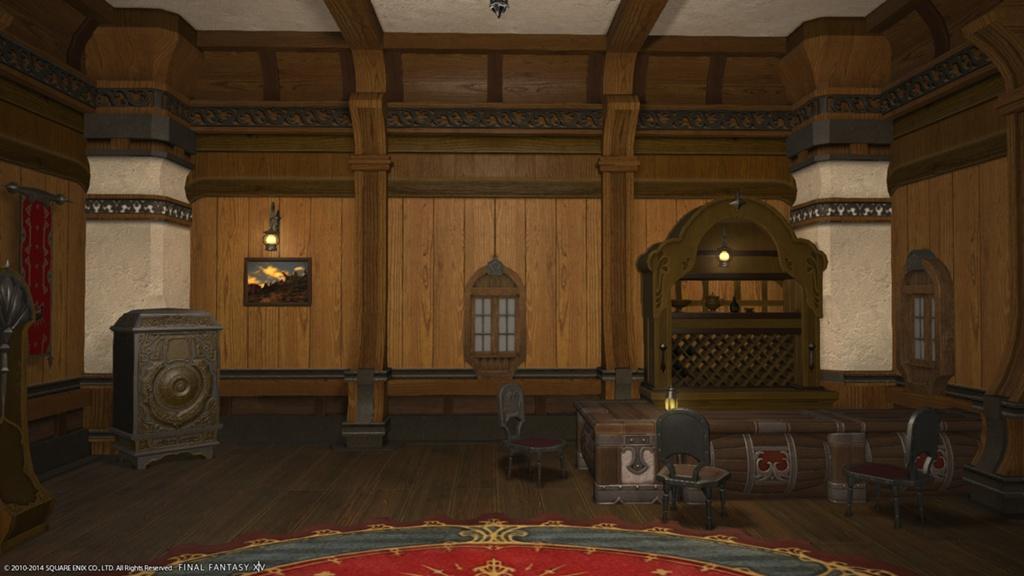Interiors Final Update: Eorzea Database: Riviera Interior Wall