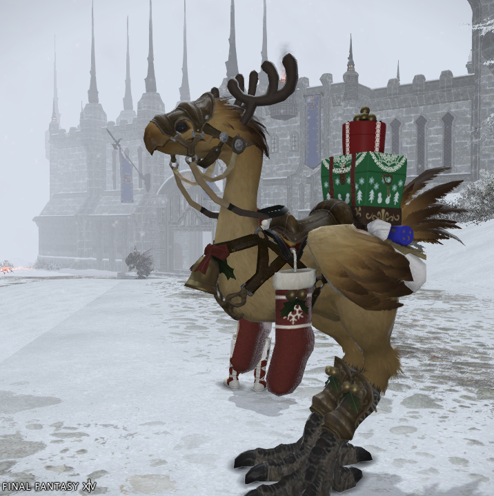 how to fly a chocobo ffxiv