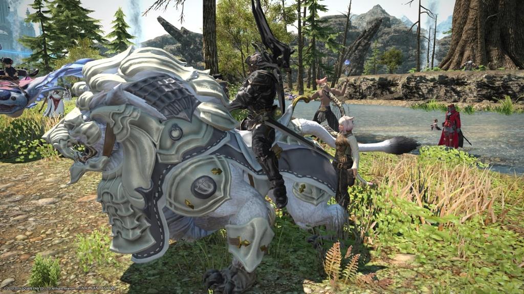 Eorzea Database: Battle Lion Horn | FINAL FANTASY XIV, The