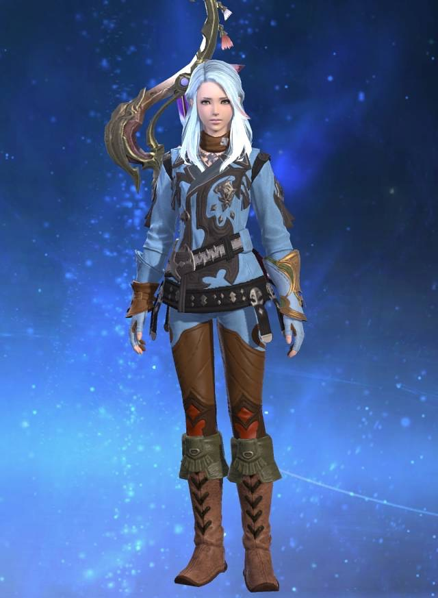 Fantasy Of DatabaseArchaeoskin Eorzea Jackcoat CraftingFinal CBdxoe