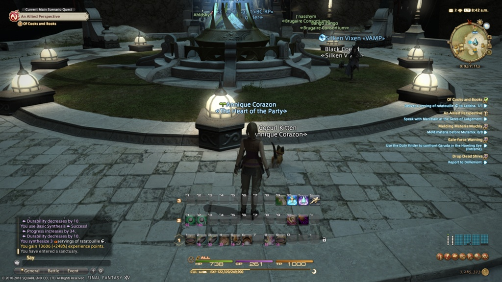 Annique Corazon Blog Entry `Personal Best Crafting Exp